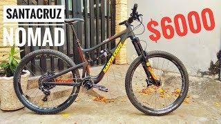 #2 Trên Tay Xe Đạp Địa Hình Giá $6000   Bike Check Santa Cruz Nomad