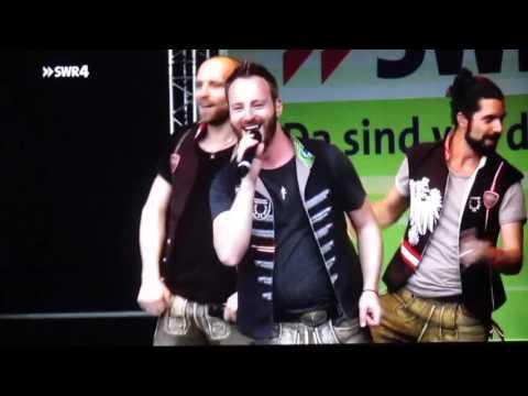 voXXclub - SWR4 Wanderspaß im Livestream - Hambuch (04.09.2016)