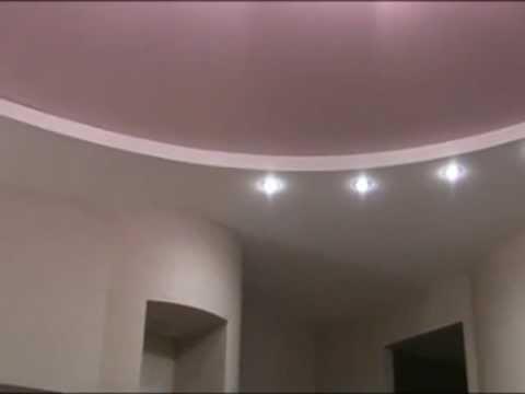 Натяжные потолки в квартире.flv