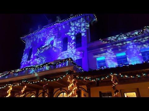 8th Annual Macy's Theatre Lighting in Old Town Sacramento Dec  3, 2016