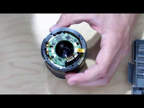 Canon EFS 18-55mm lens auto focus fix (flex cable replacement)