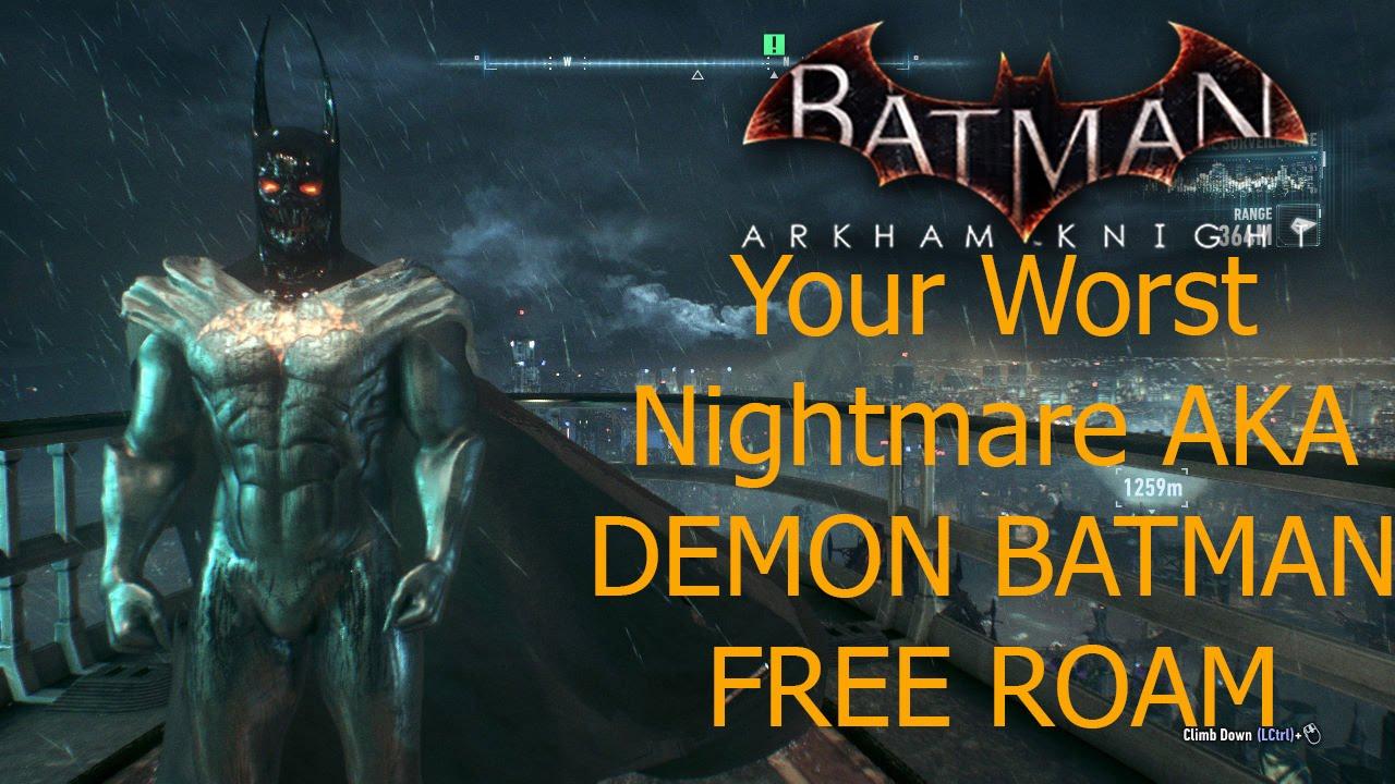 batman arkham city batman beyond skin free roam