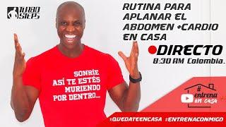 RUTINA PARA APLANAR EL ABDOMEN EN CASA
