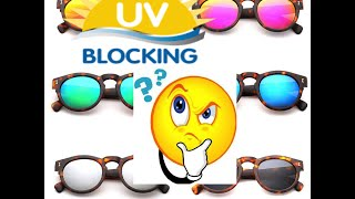 Cheap DIY UV Protection test for Sunglasses