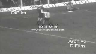 DiFilm - Estudiantes de La Plata vs Boca Juniors - Nacional 1968