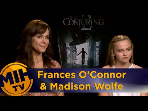Frances O'Connor & Madison Wolfe Interview - 'The Conjuring 2'
