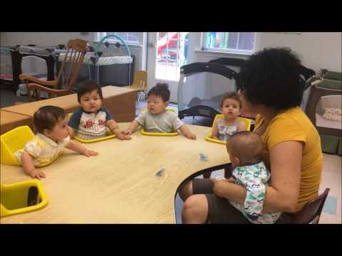 Hamilton Montessori School Infant Room Circle Time