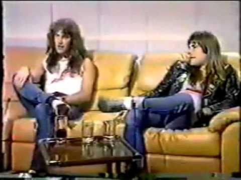 1982   Iron Maiden   Sounds interview  Australian Tv