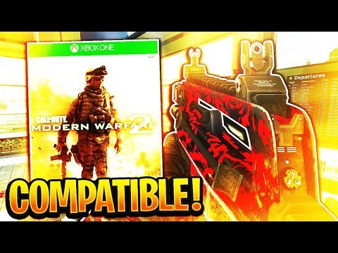 MODERN WARFARE 2 BACKWARDS COMPATIBLE ON XBOX ONE! (How to play MW2 on XBOX  ONE)