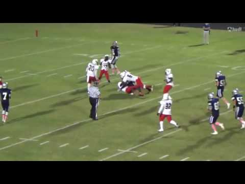 Dylan Gandy Football Highlights Arnold High 2015 16