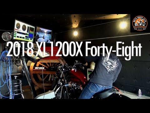 車重が軽いXL1200Xは低速トルク重視の【チューニング】2018 FORTY-EIGHT フォーティーエイト - 東京のハーレーダビッドソン東久留米