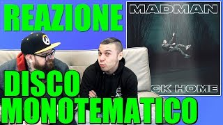 MADMAN - BACK HOME ( album completo )| RAP REACTION | ARCADE BOYZ