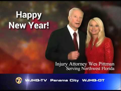 Wes Pittman - Wes & Jan Happy New Year WJHG ID