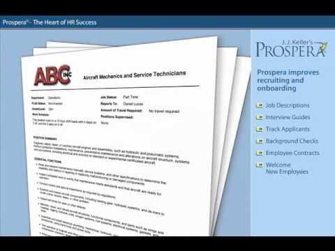 HR Compliance Made Easy With J. J. Keller's Prospera