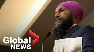 Canada Election: Jagmeet Singh speaks with media in Ottawa