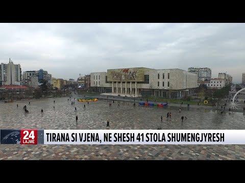 Tirana si Viena, në shesh 41 stola shumëngjyrësh