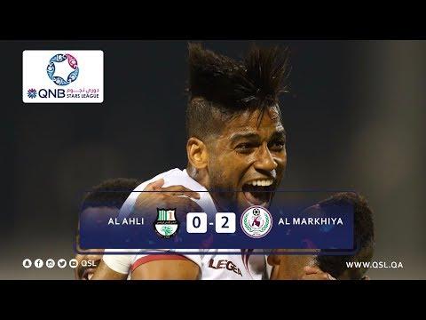 دوري نجوم QNB اهداف المباراة : الاهلى 0 - 2 المرخية