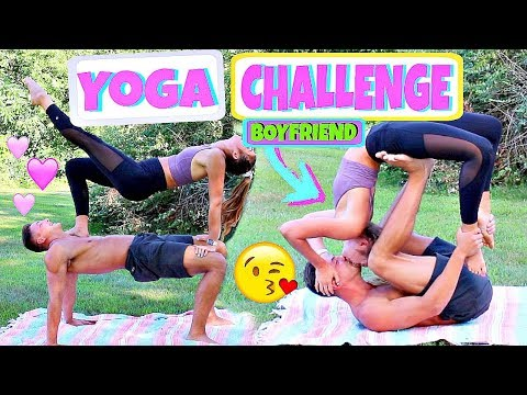 Boyfriend Vs. Girlfriend Yoga Challenge
