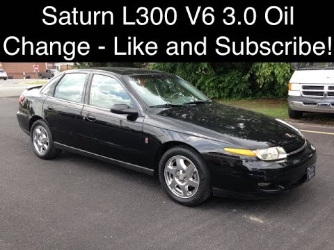 Saturn L300 Oil Change V6 3 0