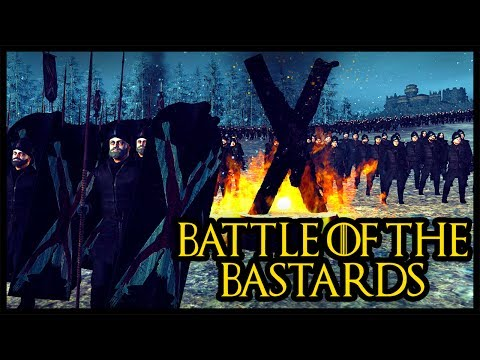 BATTLE OF THE BASTARDS - GAME OF THRONES - Seven Kingdoms Total War Gameplay