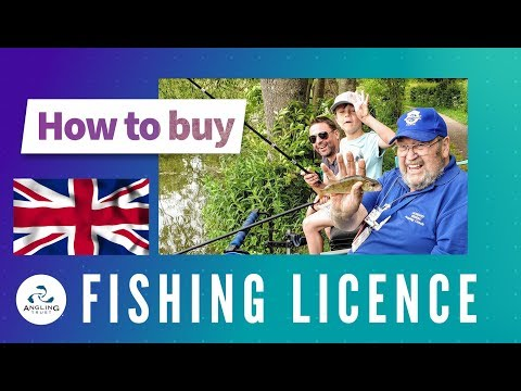 How To Buy A Fishing Licence Online In England?