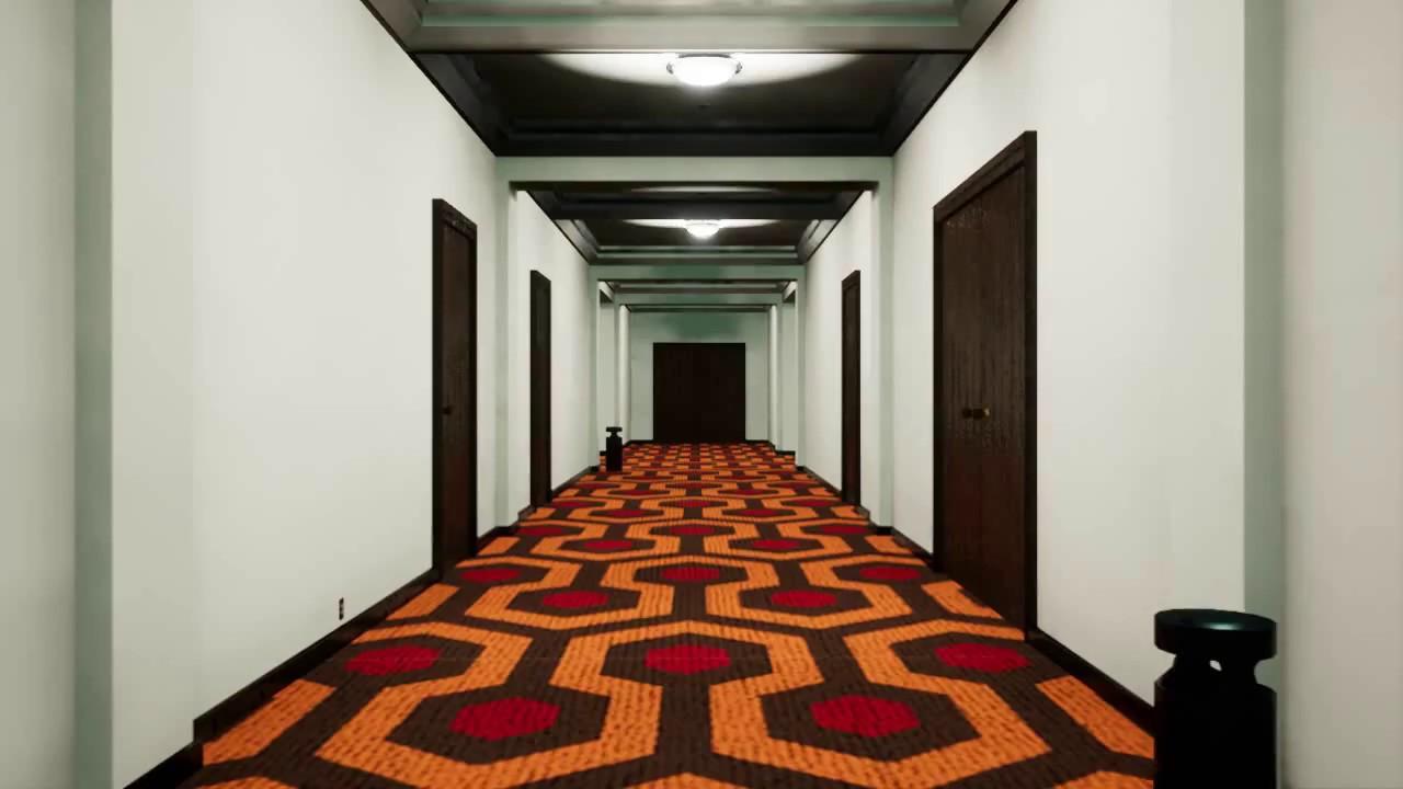 The Shinning Overlook Hotel Corridor - YouTube