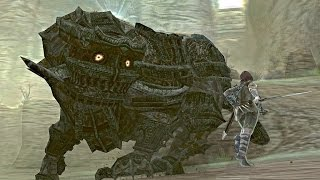 Shadow of the Colossus: Celosia Boss Fight - 11th Colossus (PS3 1080p)