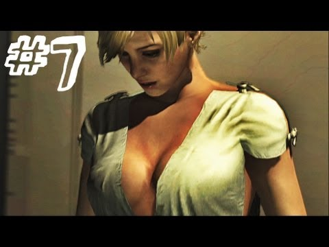 Resident Evil 6 Gameplay Walkthrough Part 7 - WHITE ROOM - Jake / Sherry Campaign Chapter 3 (RE6)