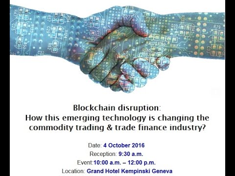ING Blockchain - Commodity Trading and Finance conference summary