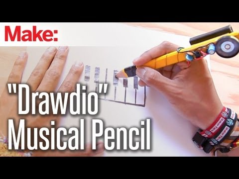 """Weekend Projects - """"Drawdio"""" Musical Pencil"""