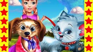 Забираем домой котика и собачку! Мультфильмы про животных. Развивающие мультики для детей.