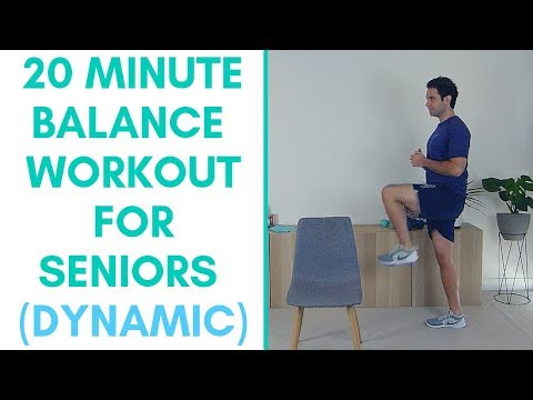 Beginner Balance Exercises For Seniors (Dynamic)   Balance Exercise For Seniors   More Life Health