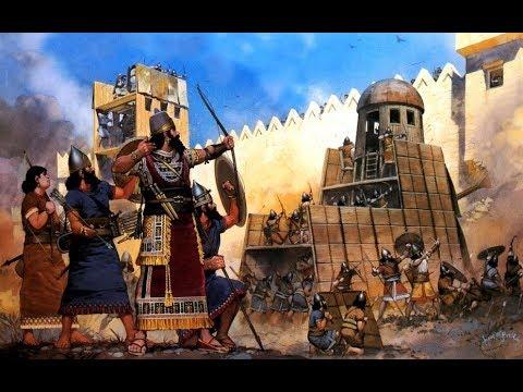 Армяно-ассирийские войны. Древний мир.