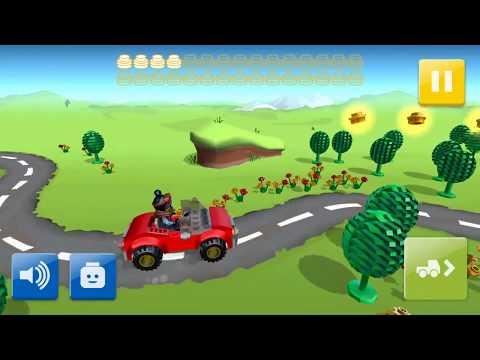 Видео для самых маленьких с игрушками -лего Профессии для детей.