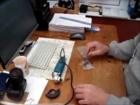 Mini 230v Angle Grinder
