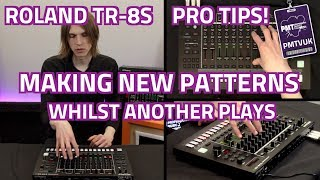 Roland TR8S Pro Tİp - How To Create A New Pattern Whilst Another One Plays