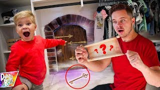 Mystery Clues Found for OPENING SECRET DOOR!