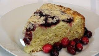 Crumb Topped Cranberry Cake -- Lynn's Recipes