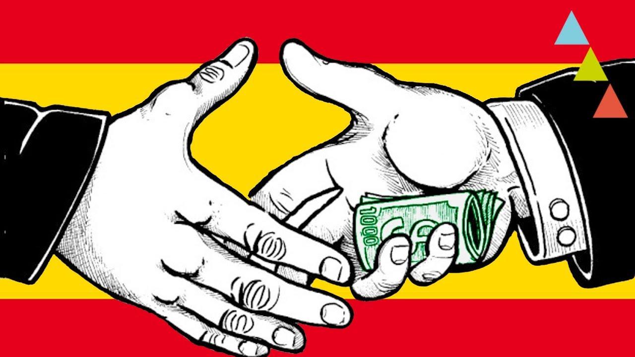 Resultado de imagen de corrupción en España