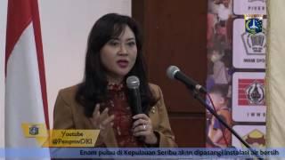 22 Sept 2016 Wagub Djarot S. Hidayat Memberikan Sambutan Pada Raker BKOW Provinsi DKI Jakarta