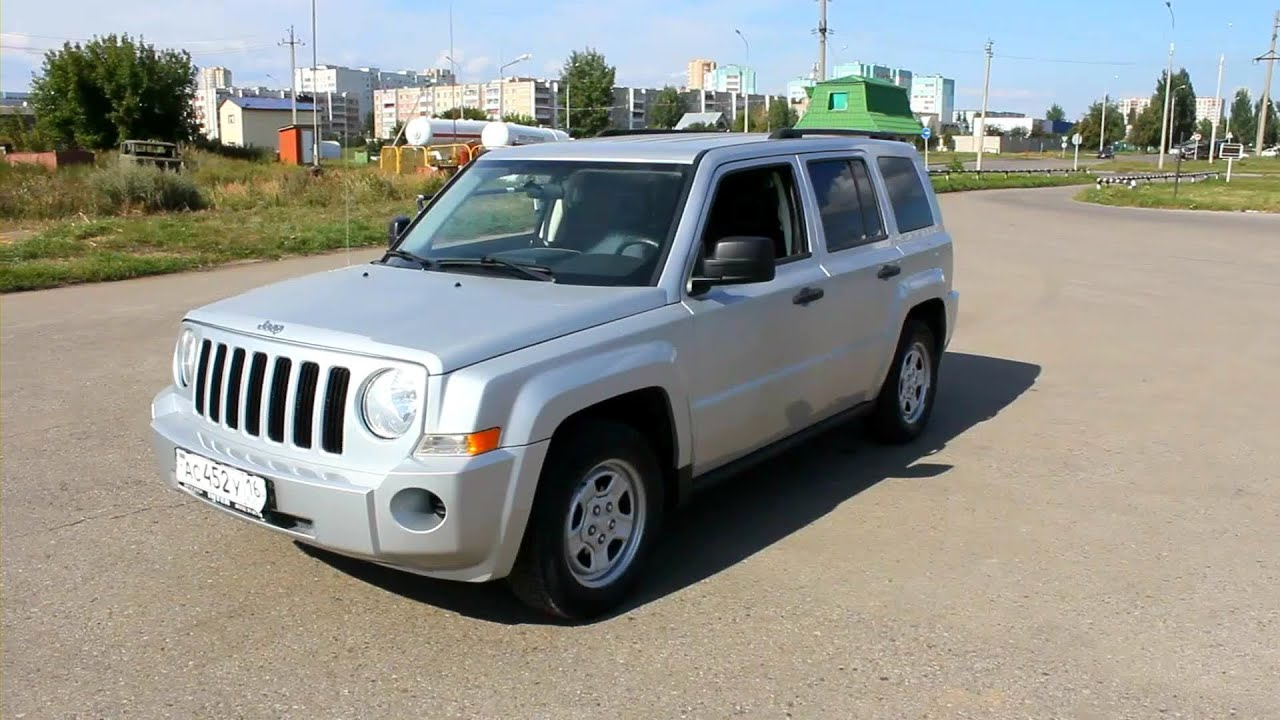 2007 Jeep Patriot. Start Up, Engine, And In Depth Tour.   YouTube