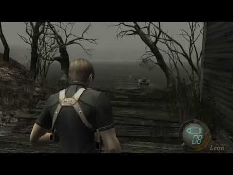 Resident Evil 4 - I killed a mutant whale?