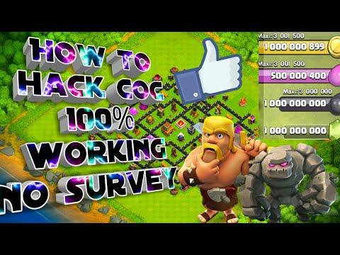 COC Hack 100% Working!!!!!!!!No Survey No Verification