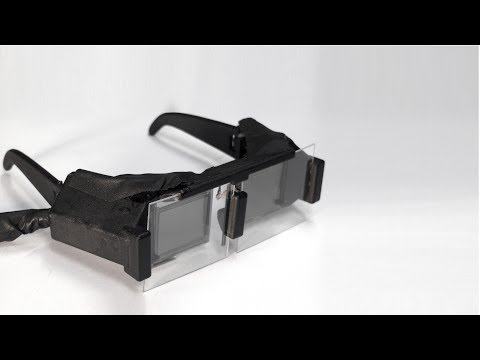 Pinlight Displays: Wide Field of View Augmented Reality Eyeglasses (SIGGRAPH 2014)
