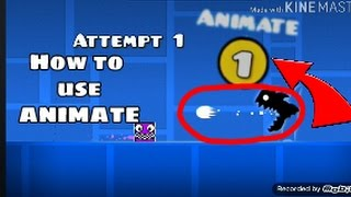 (3.33 MB) HOW TO USE THE ANIMATE TRIGGER IN GEOMETRY DASH 2.1!! Mp3