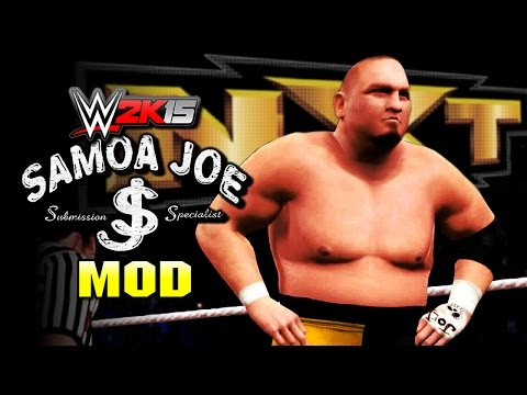 WWE 2K15 PC Mods - Samoa Joe (Injured Tyson Kidd)
