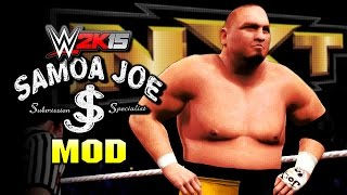 WWE 2K15 PC Mods - Samoa Joe (Injured Tyson Kidd)