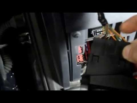 How to check and replace the headlight switch on a Ford Transit van