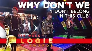 Download lagu Why Don't We perform 'I Don't Belong in This Club' | TV Week Logie Awards 2019