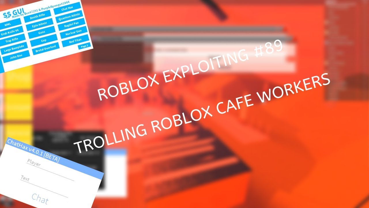Roblox Exploiting 89 Trolling Roblox Cafe Workers - the brutal overlord roblox